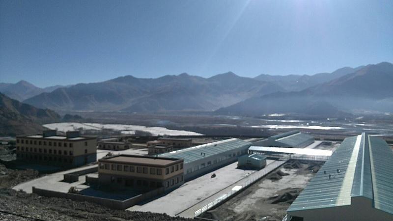 西藏嘎巴生态牧场挤奶机工程安装纪实